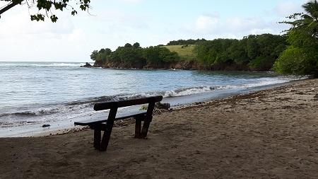 Beach east of Tartane