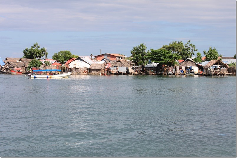 Sugdup (from West) - Carti Islands